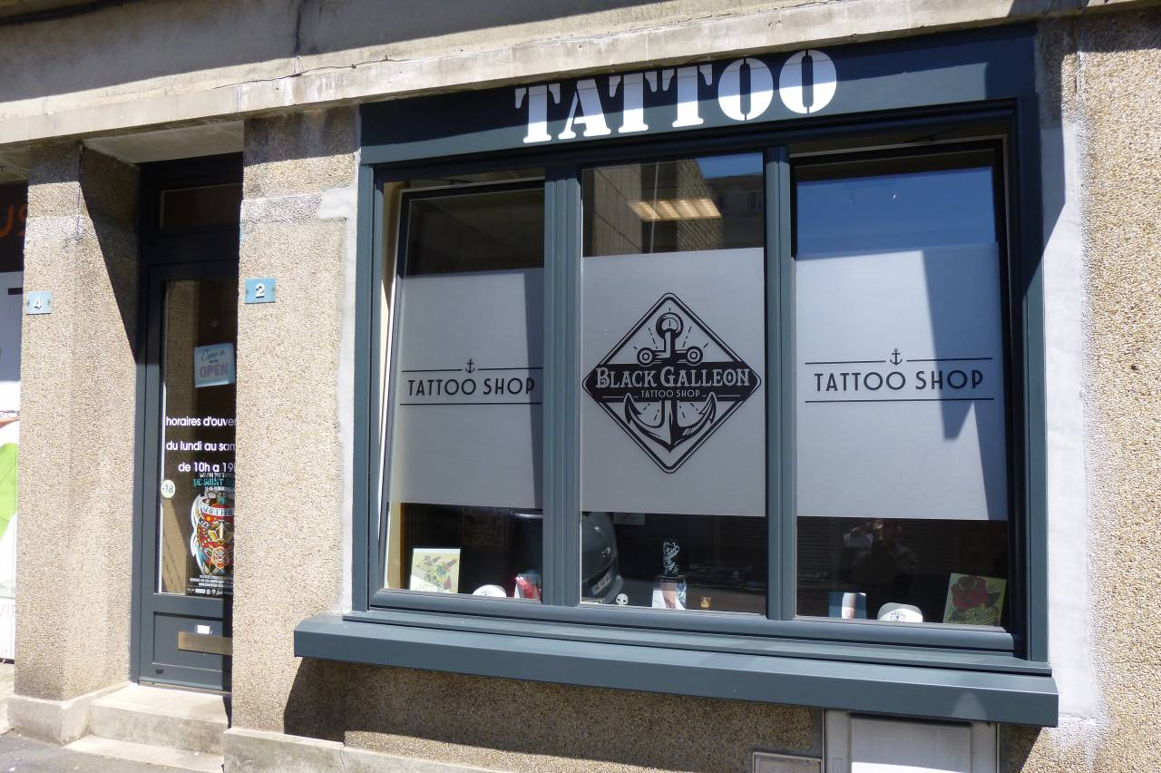 Tatoo Shop Black Galleon